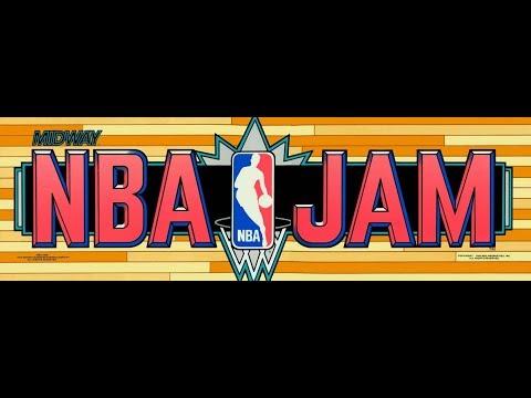 NBA Jam ARCADE - Orlando Magic vs Houston Rockets (1080p/60fps)
