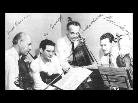 Beethoven - String quartet n°6 op.18 n°6 - Budapest 1951