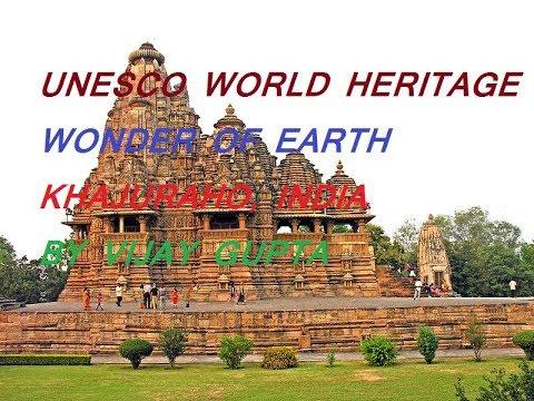 खजुराहो.Unesco world heritage khajuraho above seven wonders of the world.Awesome art & living idols