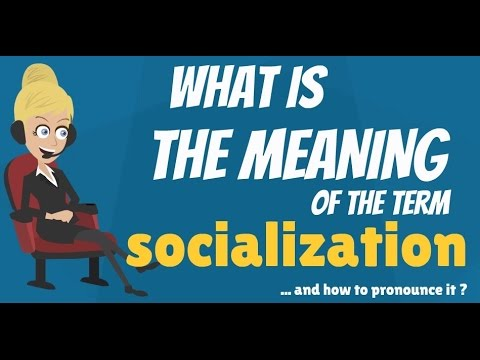 what is the concept of socialization