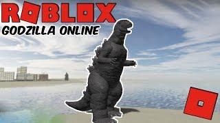 Roblox Godzilla Online - Newly Released Godzilla Game! (How To Get G Cells! + Getting H Godzilla)