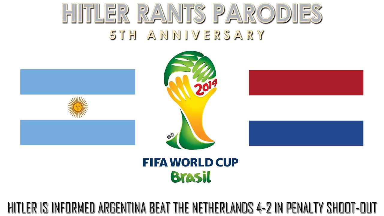 Hitler is informed Argentina beat the Netherlands 4-2 in penalty shoot-out