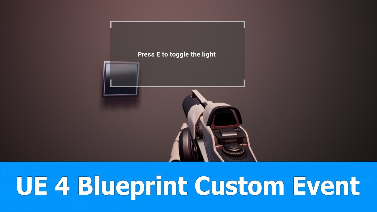 Unreal Engine 4 tutorial: Custom Events in Blueprints