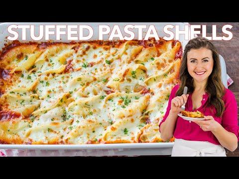 Extra Cheesy STUFFED SHELLS RECIPE