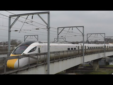 Hitachi Super Express IEP Train In Action