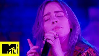 Billie Eilish: When The Party's Over (Live) | MTV Push