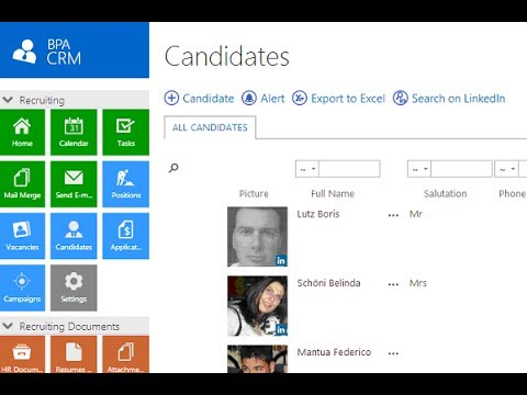 Recruiting Management Solution for SharePoint 2013
