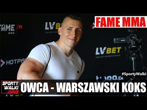 Fame MMA 4: Warszawski Koks 'Owca' nie wyklucza startw