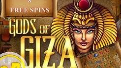 Gods of Giza - Online Slot - Freispiele