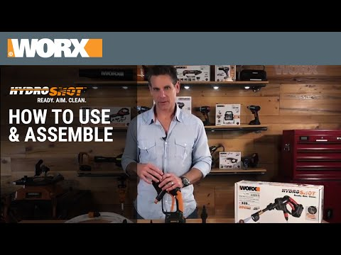 WORX Hydroshot | How To Use & Assemble