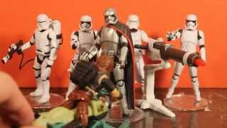 "Captain Phasma 3.75"" Hasbro Star Wars The Force Awakens Unboxing and Review"