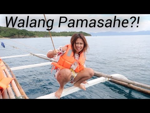 WHY WE NEED TO JUMP OUT OF THE BOAT (Island Hopping In Caramoan Philippines)