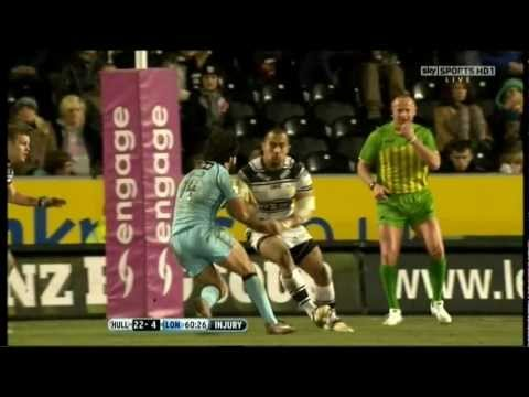 Sam Moa Big Hit, Red Card