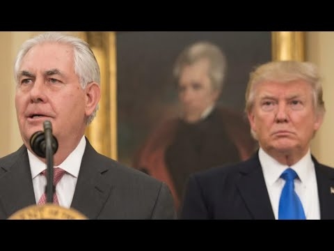President Trump challenges Secretary of State Tillerson to IQ test
