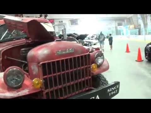 3rd Annual Indoor Car Show Show!! Northern Lights Arena Alpena Michigan 2016!!