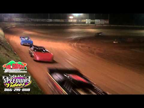 Tri County Racetrack Track side Video 4-12-13