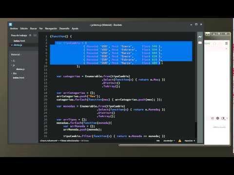 2.6 Tutorial JavaScript - Gráfico de Líneas