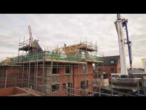 Industrial film, construction time lapse video London