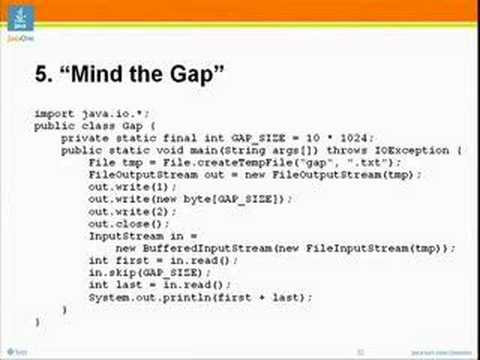 Advanced Topics in Programming Languages: Java Puzzlers,