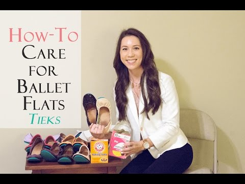 How To Care for your Ballet Flats (Reduce Odor/Sweat Marks) - Tieks Ballet Flats Review