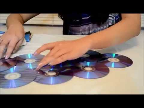 Methods used in adult education (session-I): how to make a photo frame out of waste CDs-1