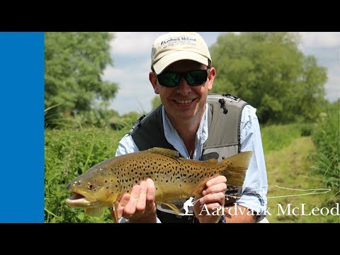 Chalkstream Fly Fishing At Broadlands On The River Test
