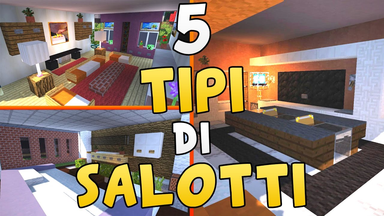 Come arredare una casa in minecraft il salotto for Arredare casa in 3d gratis