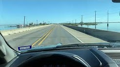 Aransas Pass Causeway to Port Aransas, Texas