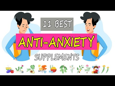BEST ANXIETY SUPPLEMENTS (NATURAL RELIEF & STUDY BACKED)