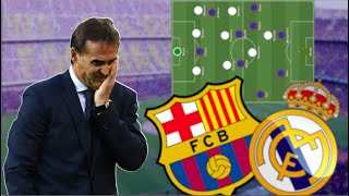 Lopetegui Fired After The Clasico ... Tactical Analysis