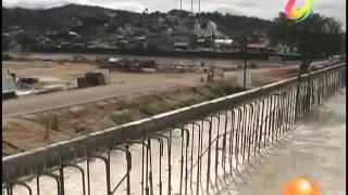 El Noticiero - Supervisan reconstrucción de puente en Coyuca de Benítez