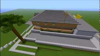 Minecraft - Building San Andreas - Part 1 (The Johnson House)