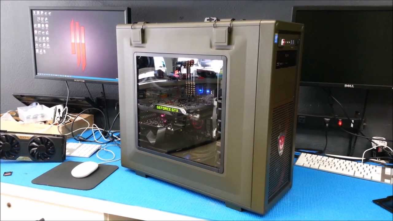 Military Green Pc Build