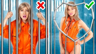 Popular vs Nerd in Jail/ 15 Funny Situations