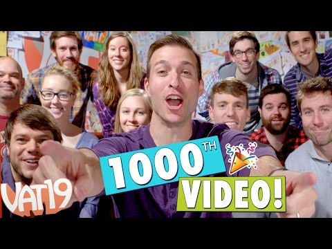 Our first 1,000 videos in 30 seconds