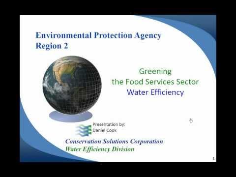 Part I: Dan Cook: US EPA Region 2 Greening the Food Services Sector Webinar