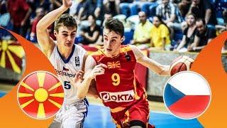 LIVE 🔴 -  MKD v Czech Republic - 3rd Place - FIBA U16 European Championship Division B 2018