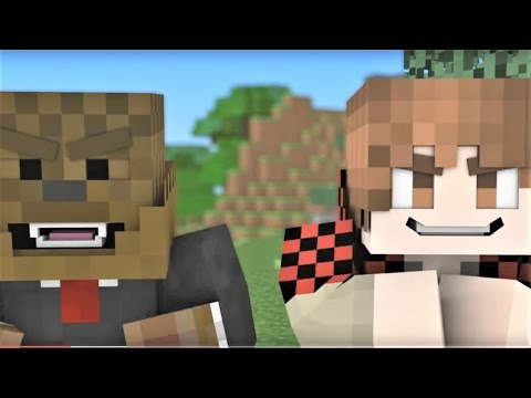 """Minecraft Song And Minecraft Animation """"BajanCanadian And JeromeASF Song"""" Minecraft Song & Animation"""