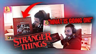 I'M GOING TO BE IN STRANGER THINGS SEASON 4?! INSANE GIFT FROM THE SHOW! (Fortnite: Battle Royale)