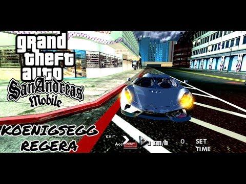 GTA SAN Mobile | Review KOENIGSEGG REGERA in Las Vegas