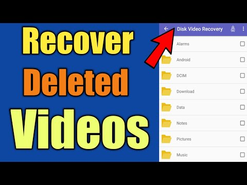 How To Recover Deleted Videos On Android Phone (without Root)