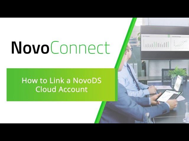 NovoConnect: How to Link a NovoDS Cloud Account