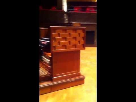 Carl Adam Landström-Organ Improvisation Stockholm Concert Hall 2013.