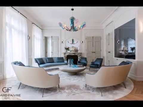 Luxury apartments in Paris - Concept Art Homes