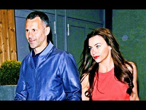 Ryan Giggs his wife Stacey Cooke