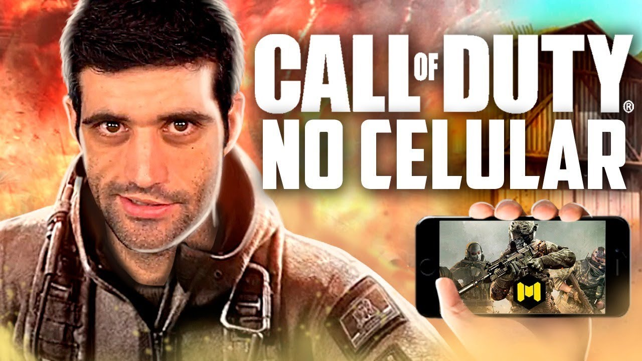 Call of Duty Mobile no celular, está SENSACIONAL
