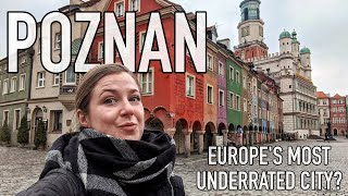 Is POZNAN Europe's most UNDERRATED city? | Poland Travel Vlog