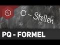 Nullstellen einfach bestimmen - Beispiel pq-Formel