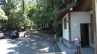 石上神宮の駐車場とトイレです 石上神宮(いそのかみじんぐう)(動画内...