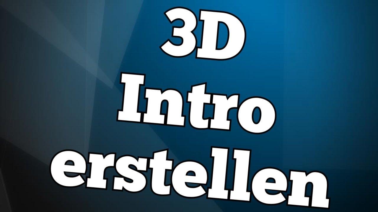 3D INTRO in MAGIX Video Deluxe erstellen  TutorialPie - YouTube
